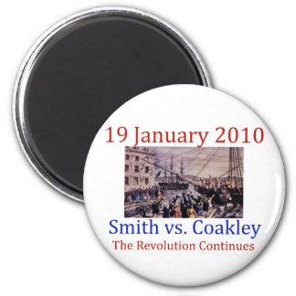 Smith vs Coakley Fridge Magnet