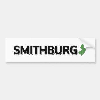 Smithburg New Jersey Bumper Sticker