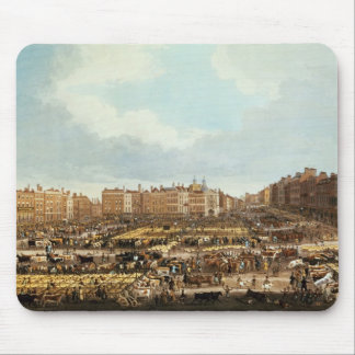Smithfield Market, engraved by R.G. Reeve Mouse Mat