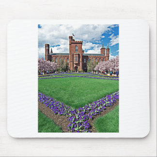 Smithsonian Castle and Haupt Garden Mouse Pad