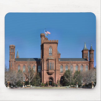 Smithsonian Castle in Washington, D.C. Mouse Pad