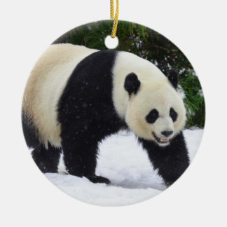 Smithsonian | Giant Pandas In The Snow Christmas Ornament