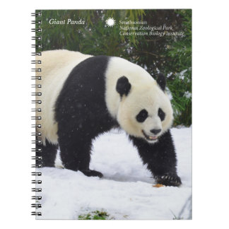 Smithsonian | Giant Pandas In The Snow Spiral Notebook