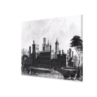 Smithsonian Institution from the South West Canvas Print