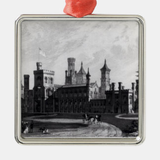 Smithsonian Institution from the South West Christmas Ornament