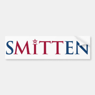 SMITTEN Bumper Sticker