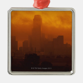 Smog in the City Christmas Ornament