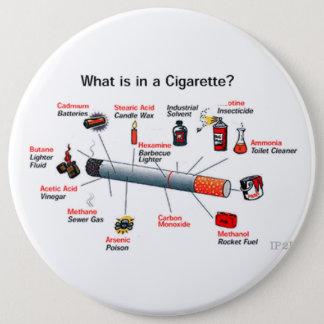 smoke 6 cm round badge