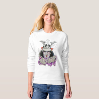 Smoke and flowers sweatshirt