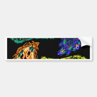 Smoke Art Bumper Stickers
