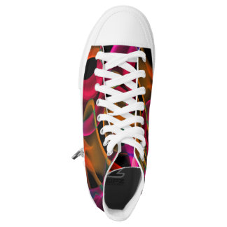 Smoke art design shoes