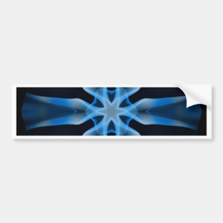 Smoke Art Kaleidoscope Bumper Sticker