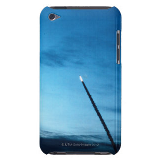 Smoke Behind Space Shuttle Barely There iPod Case