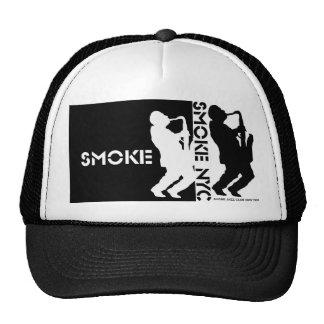 Smoke Dbl. Saxman Hat - Negative