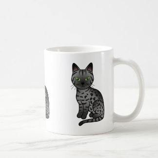 Smoke Egyptian Mau Coffee Mug