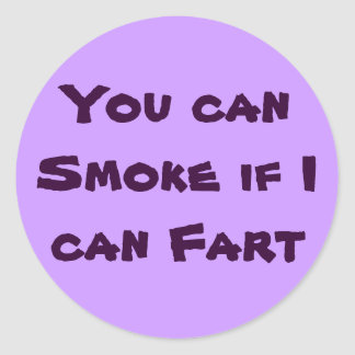 smoke/fart stickers