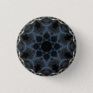 Smoke flower Kaleidoscope badge