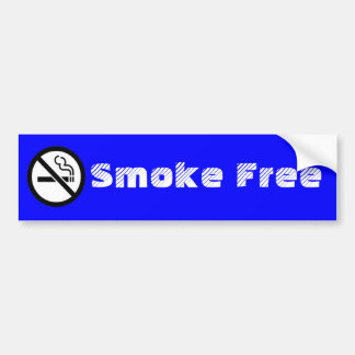 Smoke Free  bumper sticker