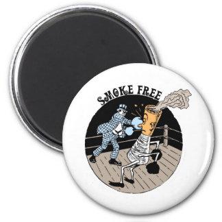 Smoke Free. Kicking butt! Magnet
