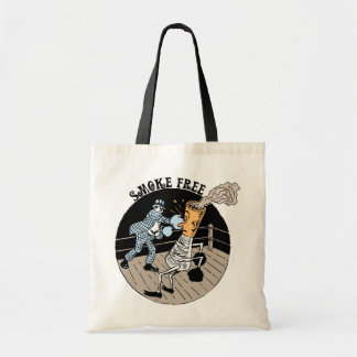 Smoke Free. Kicking butt! Tote Bag