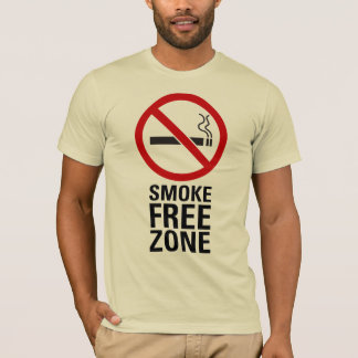 Smoke Free Zone T-Shirt