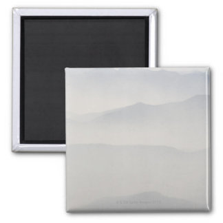 Smoke from Forest Fires Square Magnet