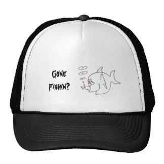 smoke , Gone Fishin? Mesh Hat
