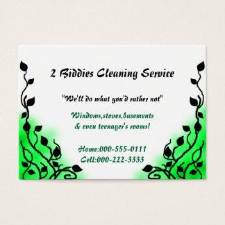 smoke green business card