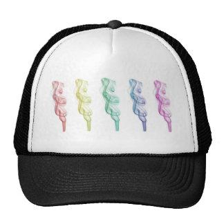 smoke mesh hat