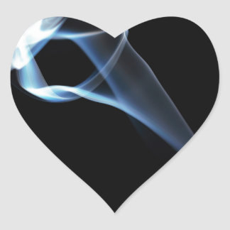 Smoke Heart Sticker