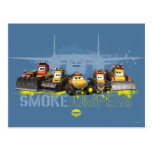 Smoke Jumpers Graphic Postcards