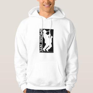 Smoke logo hoodie