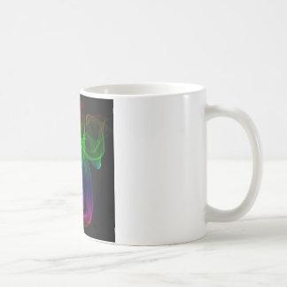 Smoke multicolor coffee mugs