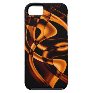 Smoke n Gold (3).JPG Tough iPhone 5 Case