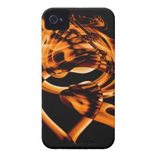 Smoke n Gold (5).JPG iPhone 4 Case-Mate Case