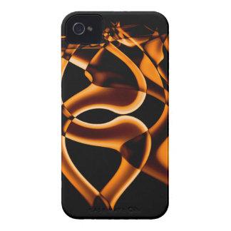 Smoke n Gold (6).JPG iPhone 4 Case-Mate Cases