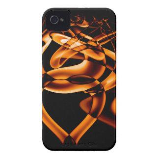 Smoke n Gold (8).JPG iPhone 4 Case-Mate Case