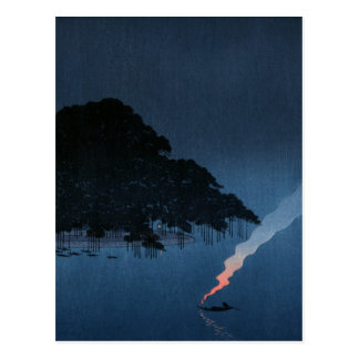 Smoke On The Water Postcard