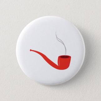 Smoke Pipe 6 Cm Round Badge