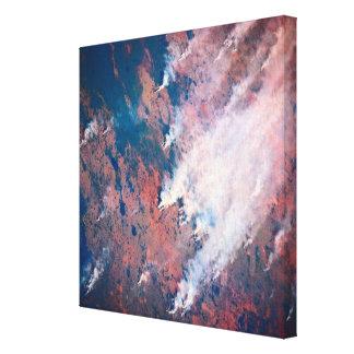 Smoke Rising Canvas Print