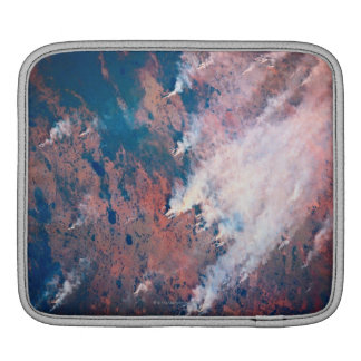 Smoke Rising iPad Sleeve