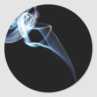 Smoke Round Sticker