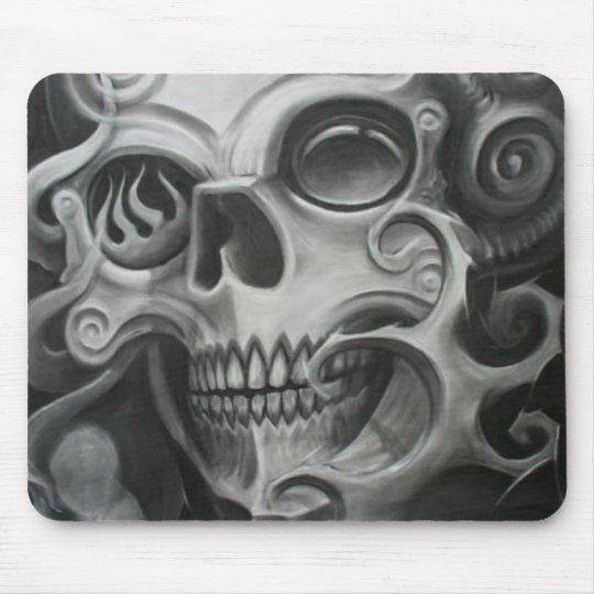 Smoke Skull Mouse Mat