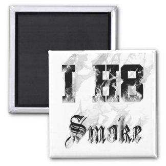 smoke square magnet