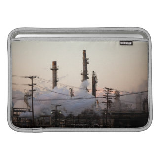 Smoke stacks and distillation towers rise sleeve for MacBook air