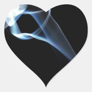 Smoke Heart Stickers