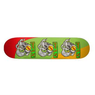 Smoke Till You Choke 20 Cm Skateboard Deck