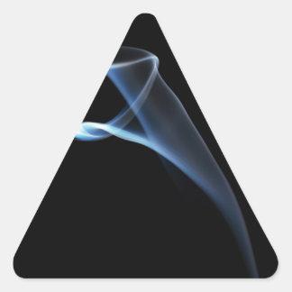 Smoke Triangle Sticker
