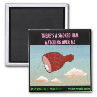 SMOKED HAM $3.00 MAGNET