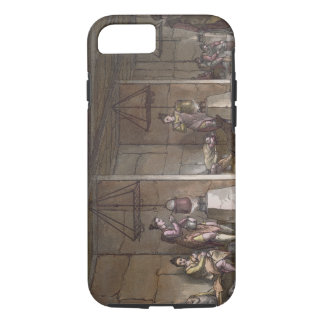 Smokehouse in Greenland (colour engraving) iPhone 8/7 Case
